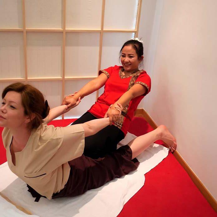 Tajlandska masaža s rastezanjem