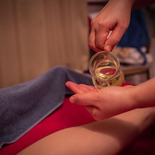 vruce ulje thai masaža